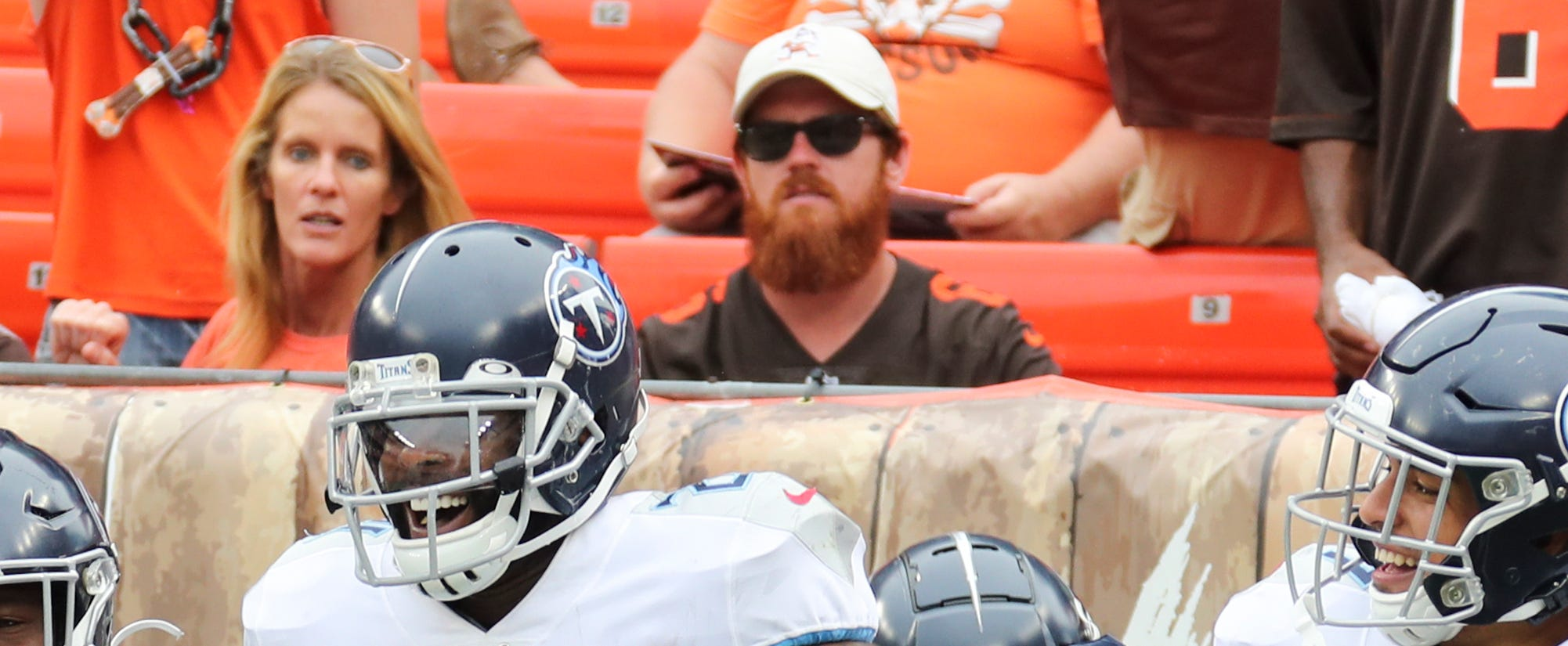 Fan who says Browns banned him for throwing beer on Logan Ryan: I wasn't at game thumbnail