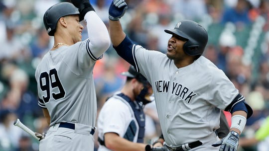 New York Yankees clinch first AL East title since 2012