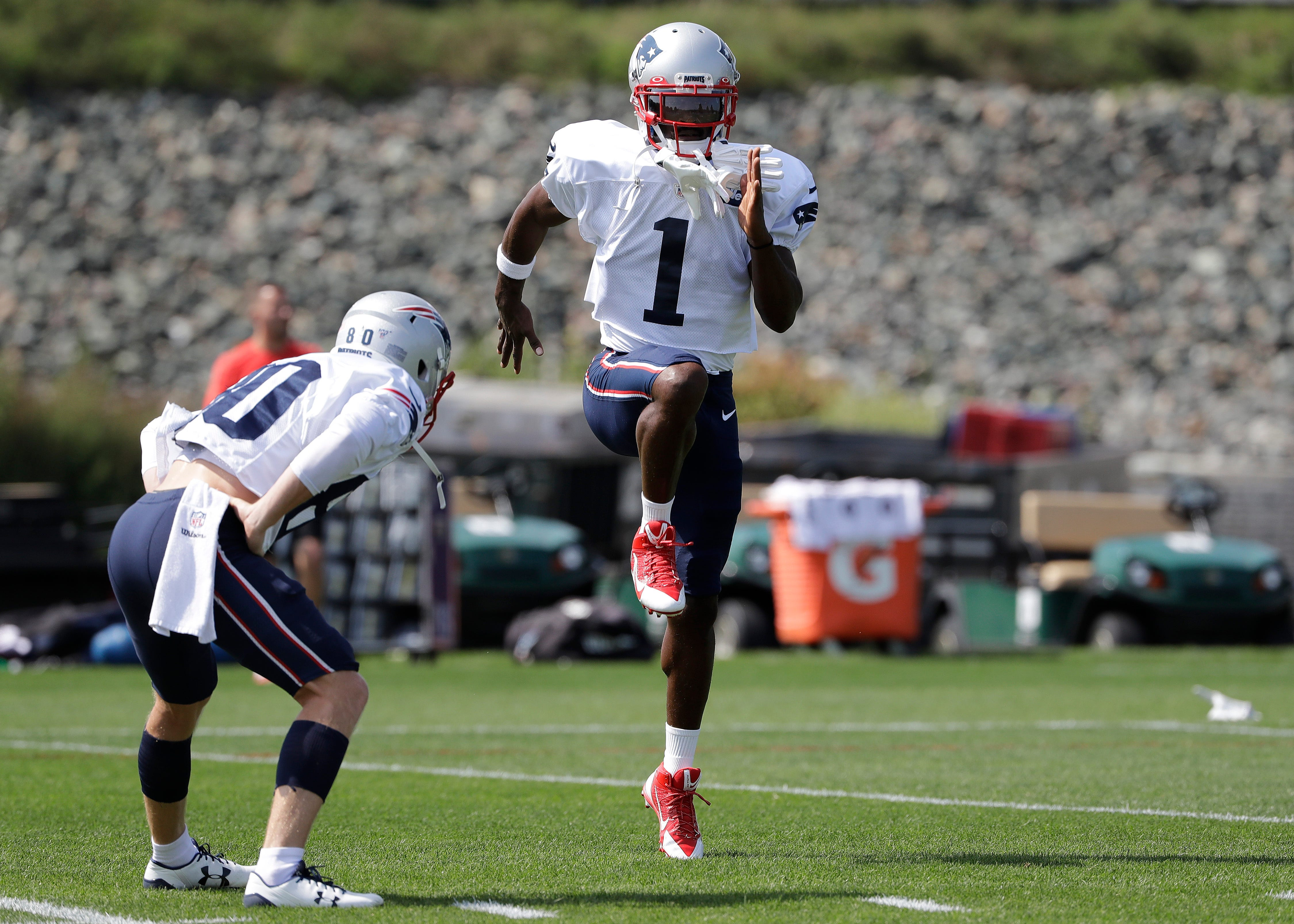 Pats' Antonio Brown said to be eligible, but will he play?