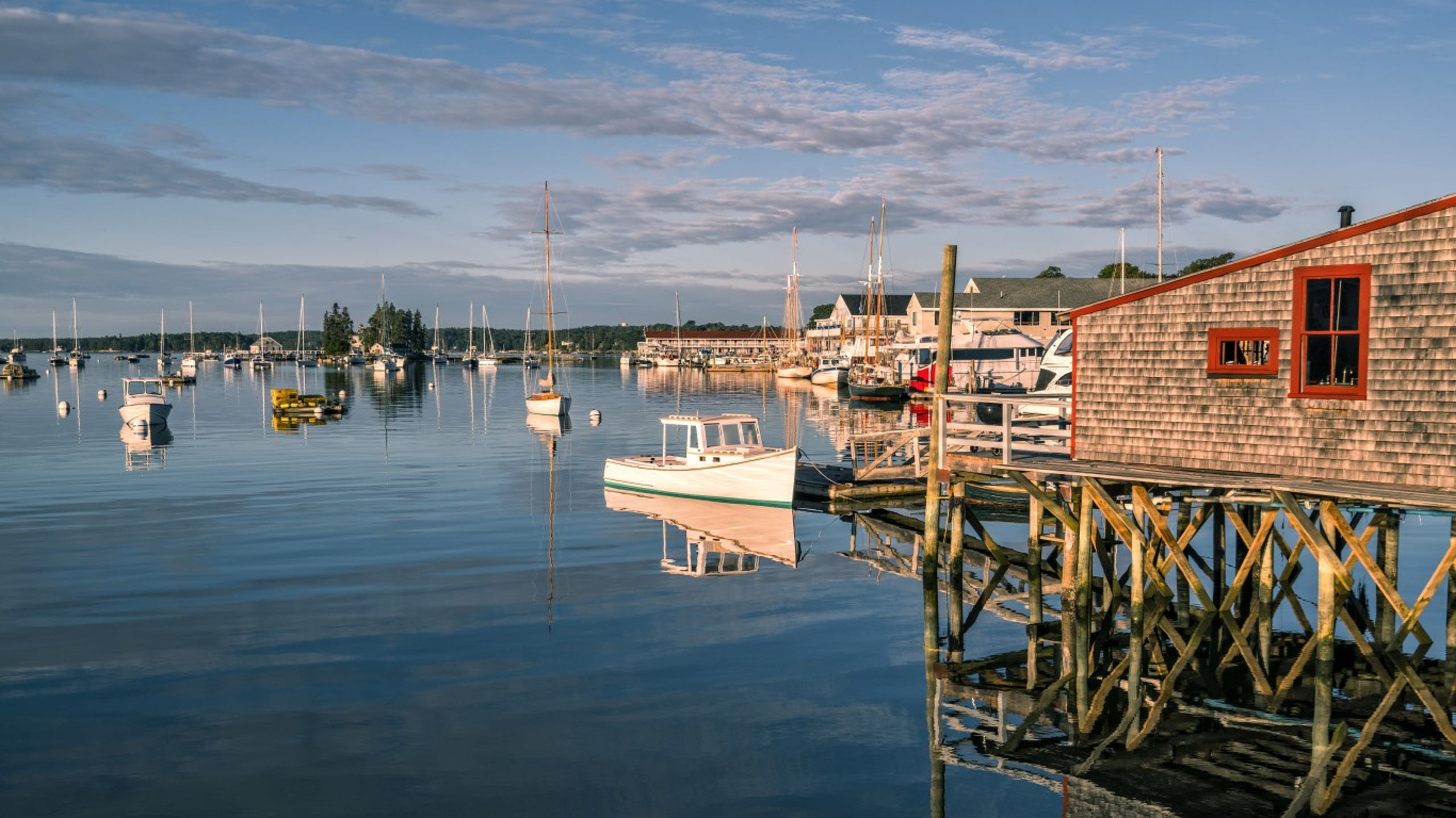 Boothbay Harbor, Maine • The seaside village of Boothbay Harbor is the perfect place for a weekend getaway in Maine. Whether you hop on a boat tour of the harbor or rent a kayak and explore it on your own, you can get up close to islands, lighthouses, puffins and lobster boats. Downtown you can wander through art galleries, shops and restaurants, and walk across the longest wooden footbridge in the country. Local highlights are the Coastal Maine Botanical Gardens and the Boothbay Railway Village, which hosts an Annual Fall Foliage Festival on Indigenous People's Day Weekend. From Oct. 13 to 15, the festival features artisanal products and food vendors, live entertainment and antique cars.