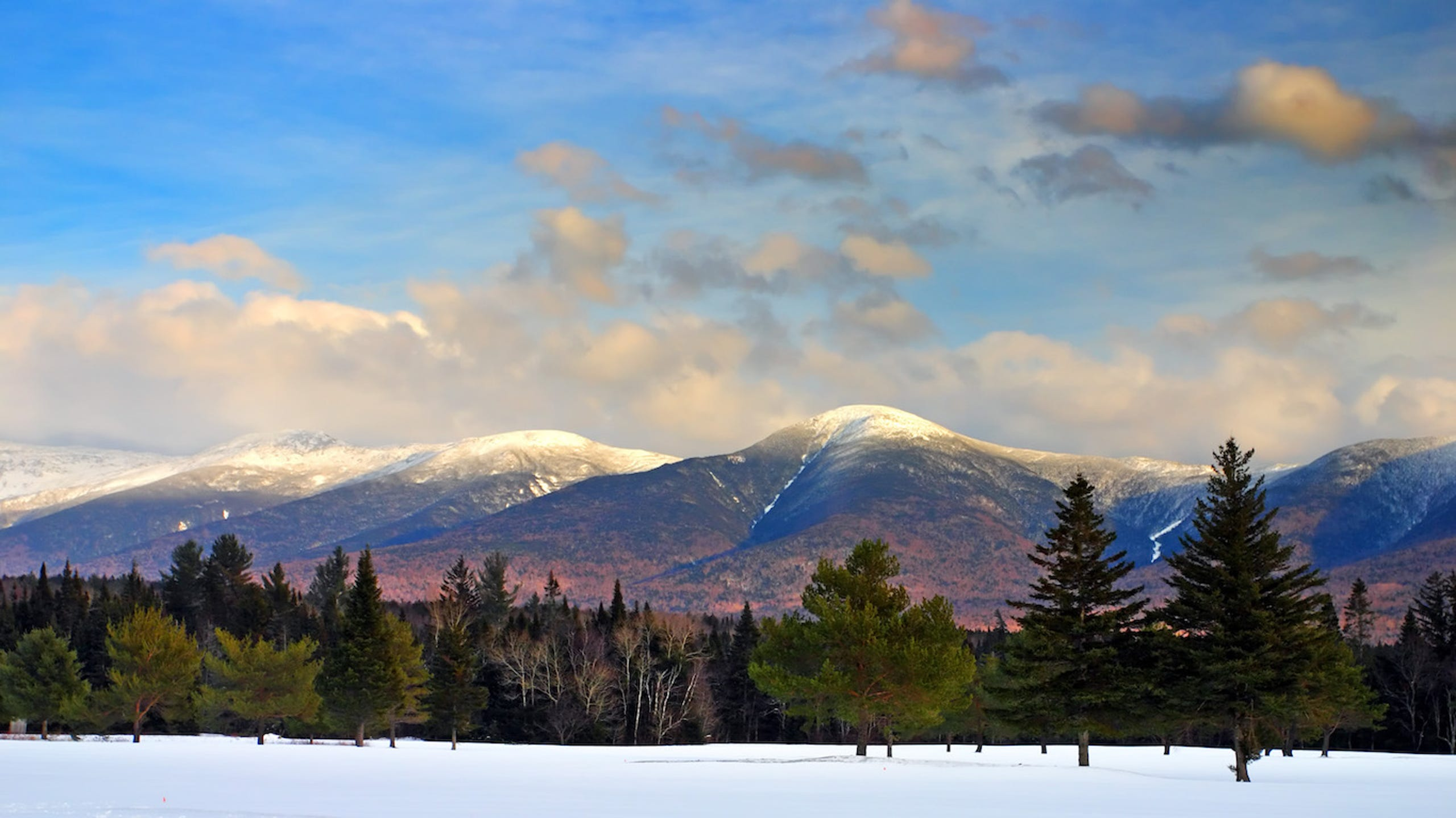 Bretton Woods, New Hampshire • Mount Washington is the highest peak in the northeastern United States at 6,288 feet, and the historic Mount Washington Cog Railway is the best way to summit the mountain. The train ride is three hours round trip, bringing you up to a fantastic view. Nearby Bretton Woods offers resort lodging, restaurants and numerous opportunities for outdoor adventures, including rock climbing, mountain biking and hiking.