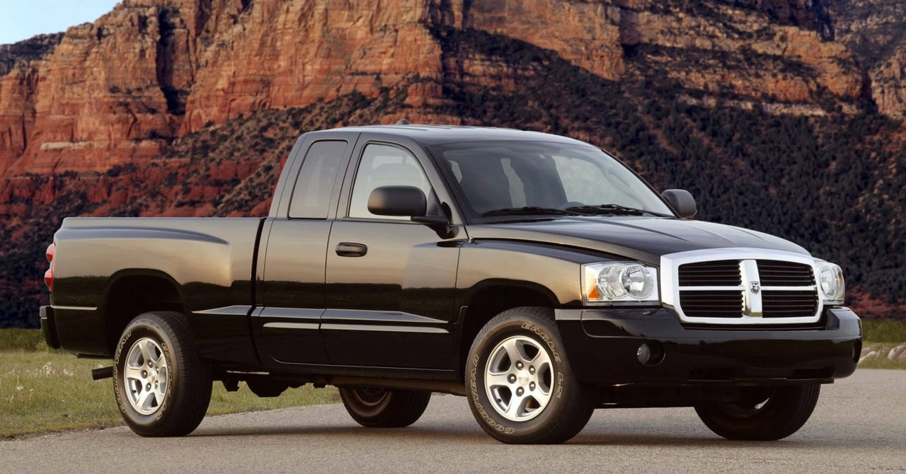 Fiat Chrysler Automobiles is expected in 2020 to introduce a new midsize pickup called the Ram Dakota, resurrecting a nameplate once attached to the Dodge pickup pictured here.