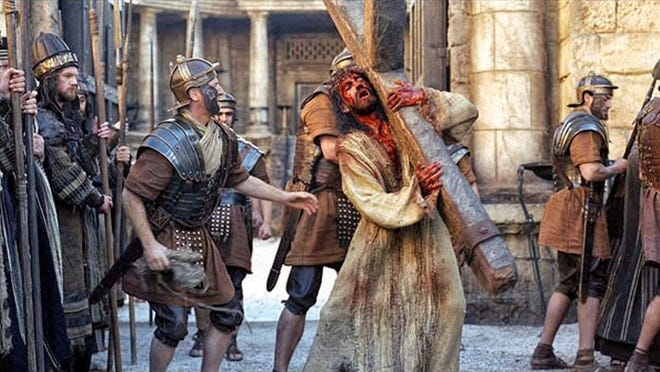 """The 2004 movie """"The Passion of the Christ"""" will be broadcast on UPtv at 9 and 11 p.m. Friday, and is also being shown on the Fox Nation streaming service."""