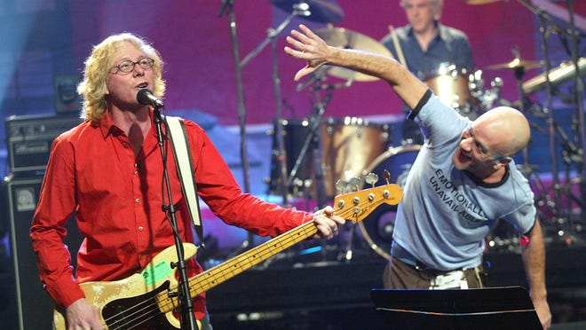 """Shortly after Wisconsin was called by the Associated Press for Joe Biden in the 2020 presidential election, the official R.E.M. Twitter account shared songs recorded from a 1982 show in Madison as a """"nod to Wisconsin."""""""
