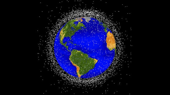There are perhaps millions of pieces of debris from objects humans launched into space. The debris pieces, known as space junk, are orbiting the Earth, and pose a problem for spaceships. An Embry-Riddle Aeronautical University team is competing in a U.S. Space Force challenge trying to determine the best ways of detecting debris so as to avoid collisions.