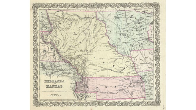 The Kansas-Nebraska Act allowed people in those territories to decide if the state would be a slave state or a free state.