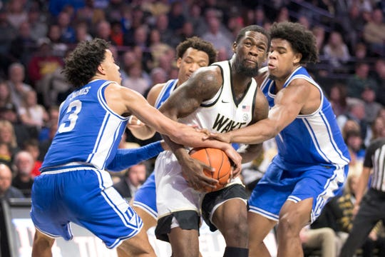 Wake Forest guard Chaundee Brown has transferred to Michigan.