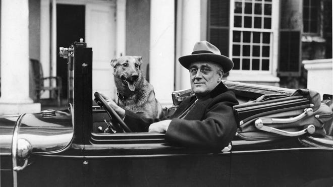 FDR became president on March 4, 1933 and 100 days later outlined his accomplishments, one of which was Public Work Administration with the objective to put idle citizens and money to work in a hurry.