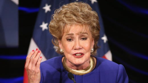 <strong>47. Elizabeth Dole&nbsp; &nbsp; &nbsp;</strong><br /> Occupation: Politician, Author<br /> Former Girl Scout Elizabeth Dole has also been a U.S. senator, secretary of transportation, secretary of labor, as well as the president of the American Red Cross (she was only the second woman to lead the organization after its founder Clara Barton in 1881). She now runs the Elizabeth Dole Foundation, which supports families and friends of America's wounded veterans.&nbsp;
