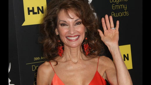 <strong>40. Susan Lucci&nbsp; </strong>&nbsp; &nbsp;<br /> Occupation: Actress<br /> Susan Lucci achieved fame and won an Emmy Award for playing Erica Kane on ABC's &quot;All My Children.&quot; The former Girl Scout once wrote, &quot;Clearly, Erica Kane was never a Girl Scout, but I'm really glad I was!&quot; Lucci has since appeared in various television series and shows. She got a star on the Hollywood Walk of Fame in 2005, was inducted into the Broadcasting Hall of Fame in 2006, and has served as an Ambassador for the National Women's History Museum in Washington, D.C.