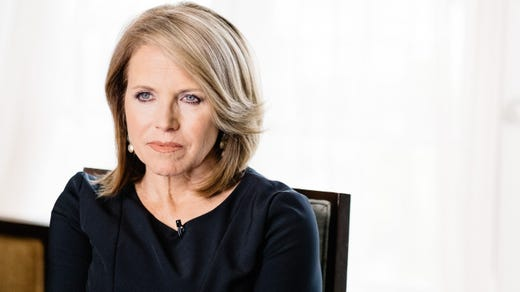 <strong>38. Katie Couric&nbsp; &nbsp; &nbsp;</strong><br /> Occupation: Journalist<br /> Broadcast journalist Katie Couric served for several years in Arlington, Virginia's Girl Scout Troop 2165 and has remained dedicated to Scouting ever since. Couric hosted an ABC News segment to mark the Girl Scouts' 100th anniversary and has supported &quot;To Get Her There,&quot; a Girl Scouts program aimed at raising awareness of the leadership gap between men and women.