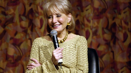 <strong>37. Barbara Walters&nbsp;</strong> &nbsp; &nbsp;<br /> Occupation: Journalist<br /> Barbara Walters grew up in Boston, where she was a Girl Scout. She worked as a television journalist for more than 60 years and gained prominence on ABC's &quot;20/20&quot; and as the first female co-anchor of the &quot;ABC Evening News.&quot; She interviewed many world leaders and won numerous awards, including a star on the Hollywood Walk of Fame.