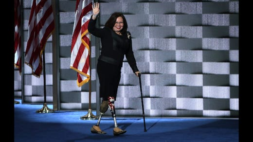 <strong>29. Tammy Duckworth&nbsp; &nbsp; &nbsp;</strong><br /> Occupation: Politician and Former U.S. Army Colonel<br /> Former Girl Scout Tammy Duckworth is the junior U.S. senator for Illinois. She previously served in the military for 23 years, flew combat missions in Iraq and lost her legs when her helicopter was shot down. After retiring from the military as a lieutenant colonel, Duckworth served as assistant secretary of the Department of Veterans Affairs. As a senator, she has been an advocate for veterans issues and campaigned against waste and fraud in defense spending. She thanked the Girl Scouts on Twitter &quot;for teaching me leadership skills I use in the Senate everyday.&quot;