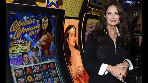 <strong>21. Lynda Carter&nbsp; &nbsp; &nbsp;</strong><br /> Occupation: Actress<br /> Lynda Carter has had as varied a career as any former Girl Scout. While probably best known for playing Wonder Woman in the television show of the same name, she has also had success as a singer and a beauty queen. Carter started out singing in her hometown of Phoenix, Arizona, and still performs today. In between, she won the Miss World USA Pageant in 1972.&nbsp;