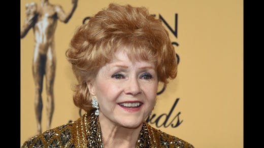 <strong>16. Debbie Reynolds&nbsp; &nbsp; &nbsp;</strong><br /> Occupation: Actress Actress<br /> Debbie Reynolds' breakthrough role came when she was just 19 &ndash; she starred alongside Gene Kelly in &quot;Singin' in the Rain.&quot; And she had never sung or danced before! Stewart went on to act in film, television, and theater and was nominated for an Oscar for her performance in &quot;The Unsinkable Molly Brown.&quot; She died of a stroke in December 2016, one day after the death of her daughter, the &quot;Star Wars&quot; series star Carrie Fisher. Both mother and daughter were Girl Scouts. At some point Reynolds explained, &quot;I registered as a Girl Scout, and I want to die as the world's oldest living Girl Scout. I've been one for 70 years. . . . It is such a good program, and it helped me in my youth.&quot;&nbsp;