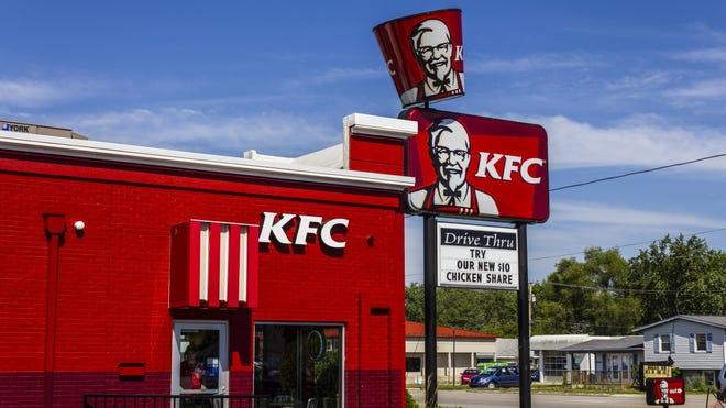 A KFC restaurant.