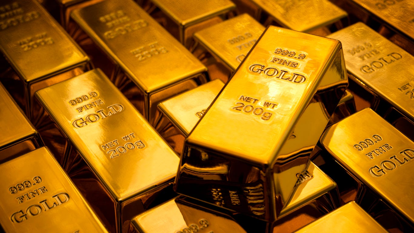 Which countries across the world control the most gold? Here's the Top 25