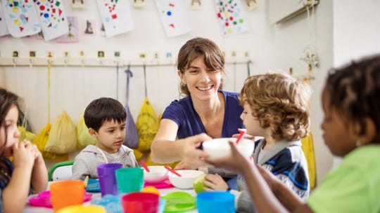 A new poll finds broad support among women for child care that's available on evenings and weekends.