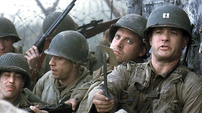 """A scene from """"Saving Private Ryan."""""""