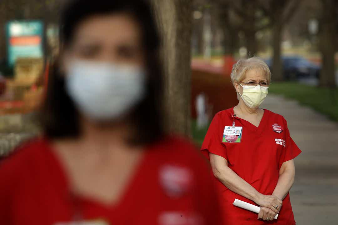 ghows MO 200409665 d3f21a80 - CORONAVIRUS (COVID-19) CoronaVirus Covid-19 CoronaVirus Treatment coronavirus vaccine 'Can't expect nurses to be miracle workers': Mask, equipment shortages push nurses to brink across nation