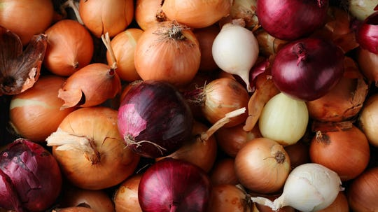 A salmonella outbreak linked to recalled onions has spread to 47 states, with increased cases and hospitalizations.