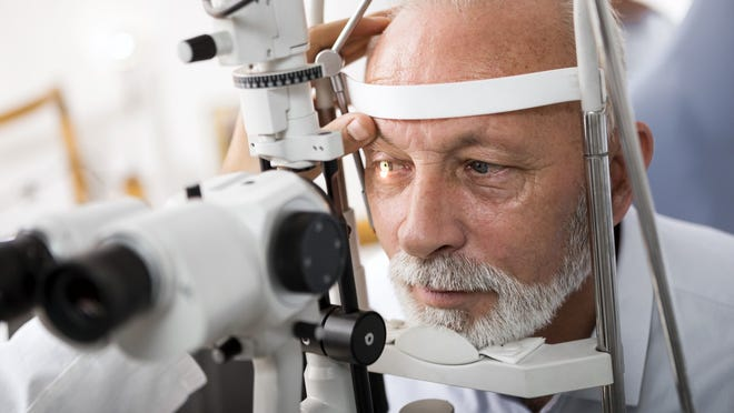 The most common type of glaucoma is an open-angle glaucoma, which often has no symptoms other than gradual vision loss.