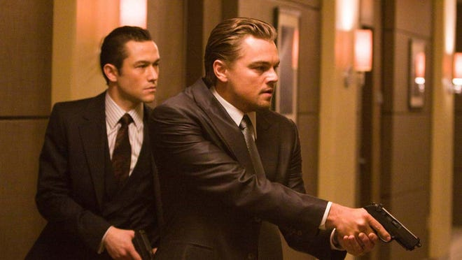 """Inception"" stars Joseph Gordon-Levitt, left, and Leonardo DiCaprio."