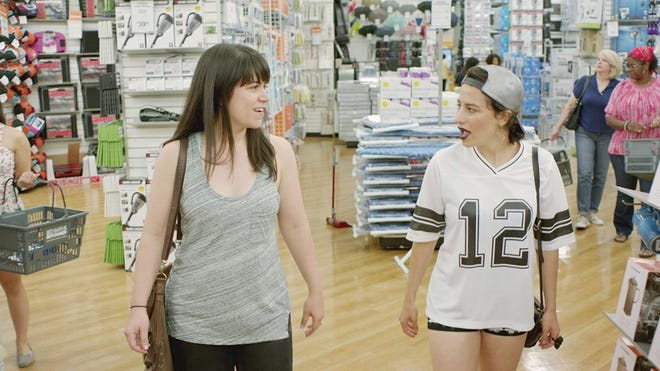 """Abbi Jacobson, left, and Ilana Glazer in a scene from their beloved comedy """"Wide city."""""""