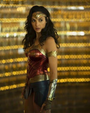 "Gal Gadot returns as the Amazing Amazon in ""Wonder Woman 1984."""