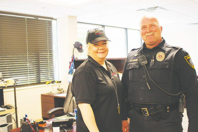 During the 2018 National Public Safety Telecommunications week, Shelly Dragg and DJ Long expressed their appreciation for the work dispatchers do behind the scenes.