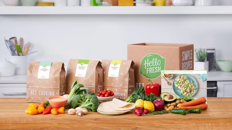 Cooking a HelloFresh 20 minute meal