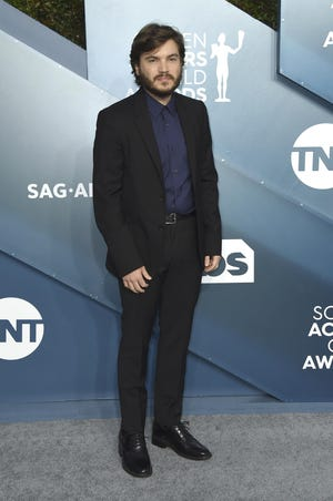 """Emile Hirsch arrives at the 26th annual Screen Actors Guild Awards at the Shrine Auditorium & Expo Hall in Los Angeles in this AP file photo from Jan. 19, 2020. Hirsch will star in """"Dig,"""" a feature film that has begun production in Las Cruces."""