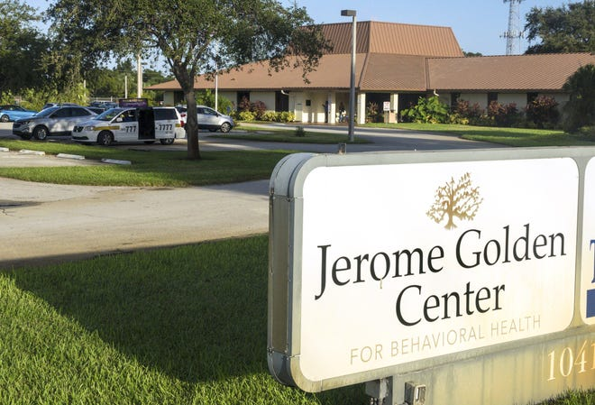 The Jerome Golden Center for Behavioral Health on 45th Street in West Palm Beach has been sold to a New Jersey-based company.