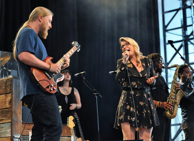 The Jacksonville-based Tedeschi Trucks Band perform at Daily's Place in Jacksonville in 2018. They will return for two shows in June.