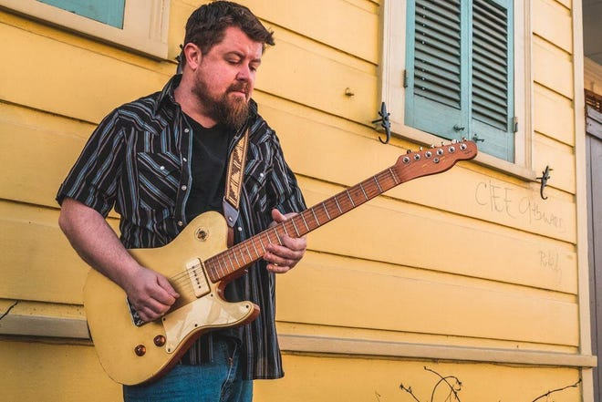 """Florida blues/roots rock singer-songwriter and guitarist Damon Fowler's new album """"Alafia Moon"""" comes out Friday on Landslide Records."""