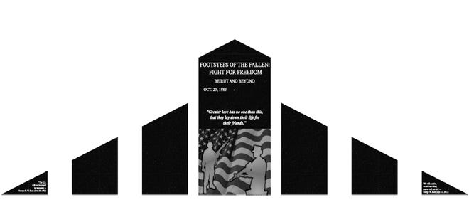 A golf outing will be held on September 11 to benefit the proposed memorial in Beaver from Footsteps of the Fallen: Fight for Freedom - Beirut and Beyond.