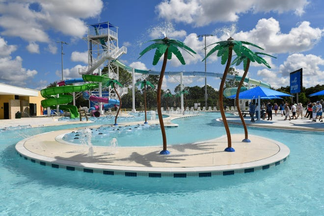 The North Port Aquatic Center.