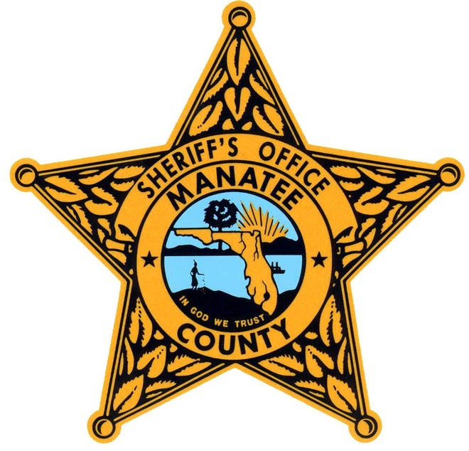 The Manatee County Sheriff's Office star.