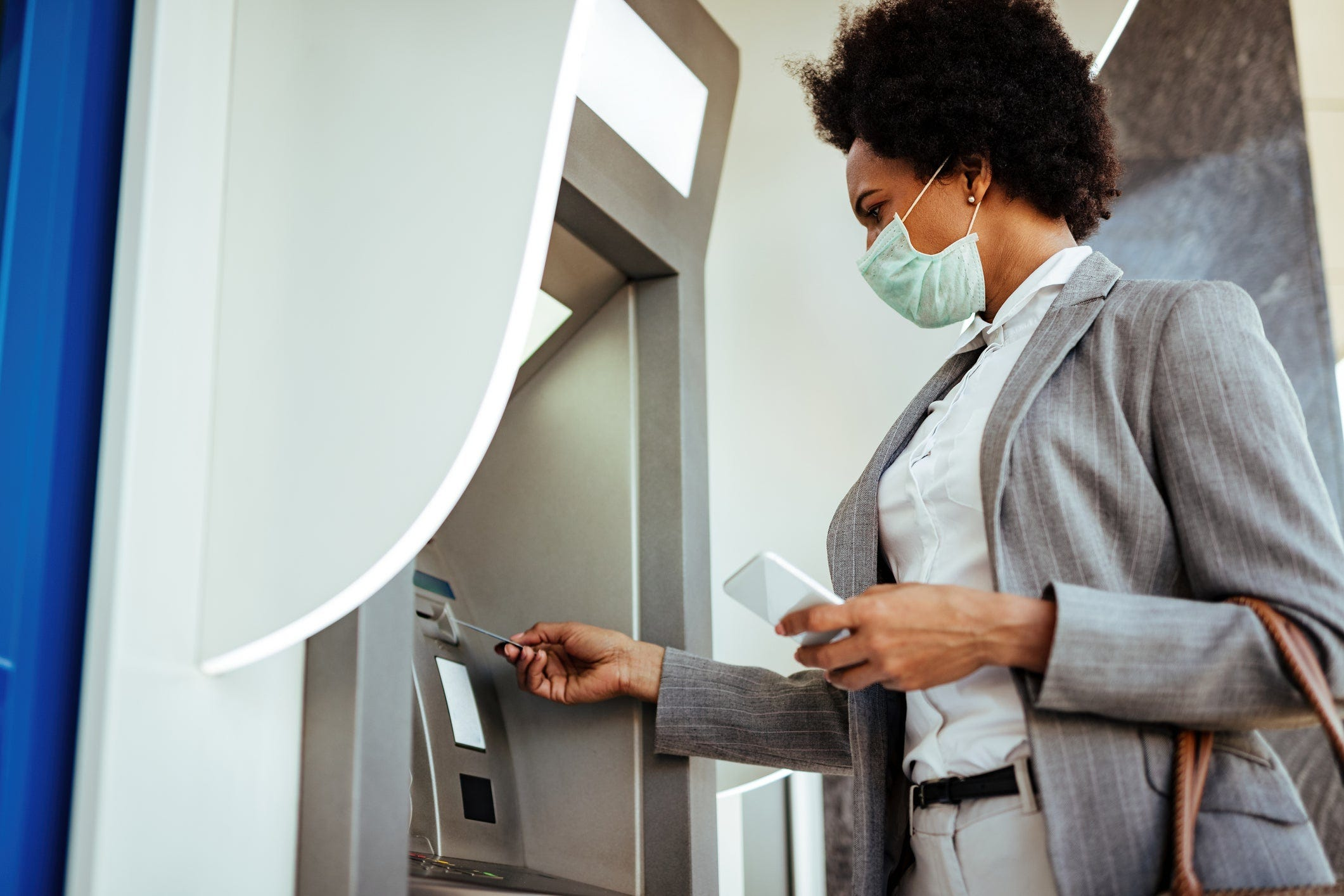 Scammers avoid ATMs, which are equipped with cameras, in favor of online banking and new banking apps.