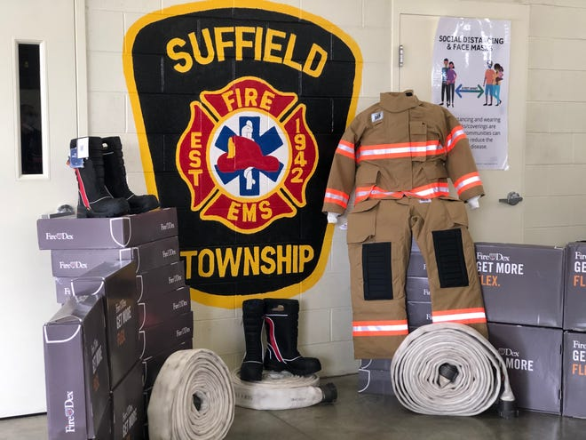 Suffield Fire Department planning 9/11 memorial ceremony on Saturday.