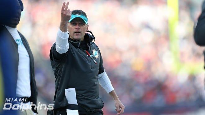 Miami Dolphins defensive coordinator Josh Boyer.