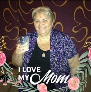 In early April, the coronavirus cut short the life of Antonia Olmo, a 78-year-old Deltona woman. She was very close to her family, and lived with her son, who provided this photo, which also is featured prominently on his Facebook page.