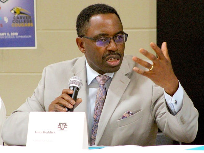 Gadsden City Schools Superintendent Tony Reddick has seen his system get a financial boost with some COVID relief funds.