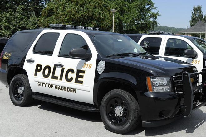 A Gadsden police vehicle is shown in a file photo.