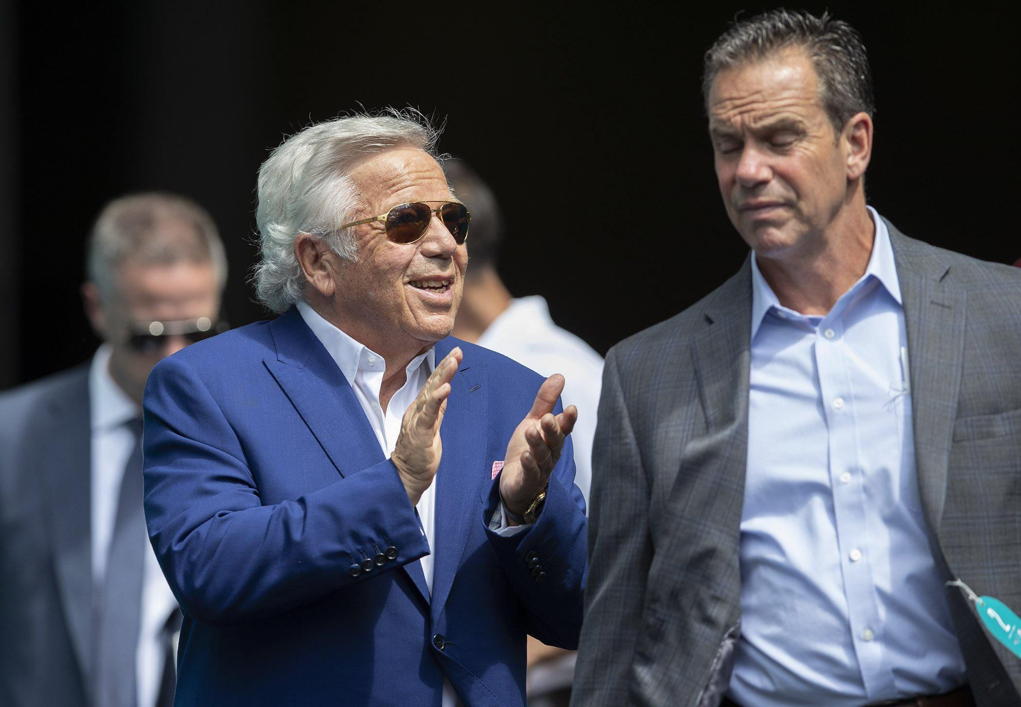 New England Patriots owner Robert Kraft has charges dropped in Florida prostitution sting