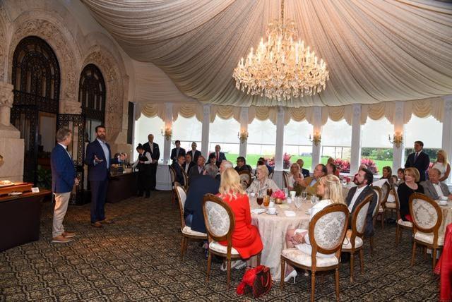Donald Trump Jr. served as host for the Mar-a-Lago fundraiser for U.S. Sen. Rand Paul.