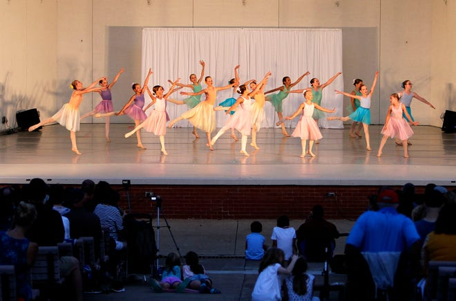 """Ashland Regional Ballet will hold its annual """"Dance Concert in the Park"""" Aug. 15 at Guy C. Myers Memorial Band Shell."""