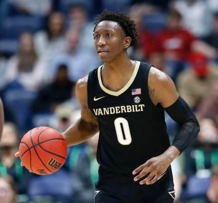 Saben Lee of Vanderbilt averaged 18.6 points per game as a junior in 2019-20.