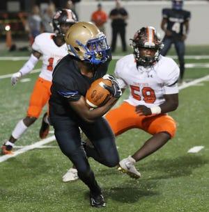 Mainland senior wide receiver TJ Lockley chose East Carolina over 35 other Division I programs on Tuesday evening.