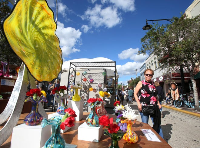 DeLand Fall Festival of the Arts in downtown DeLand, Saturday, Nov. 17, 2018. The popular annual festival has been canceled this year due to concerns over the coronavirus.